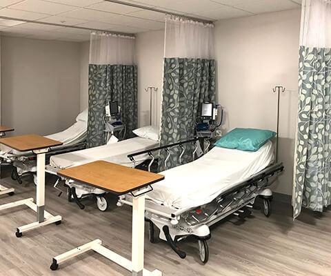 Dialysis Treatment Area