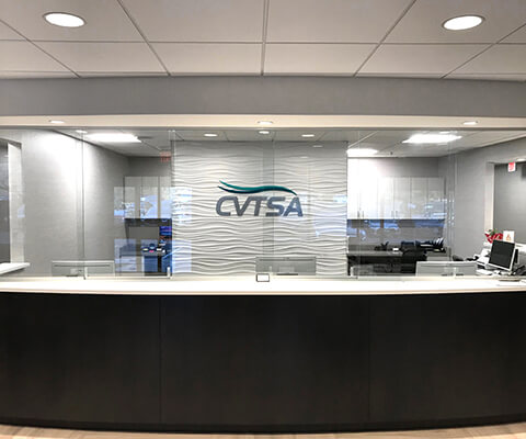 CVTSA Reception Desk